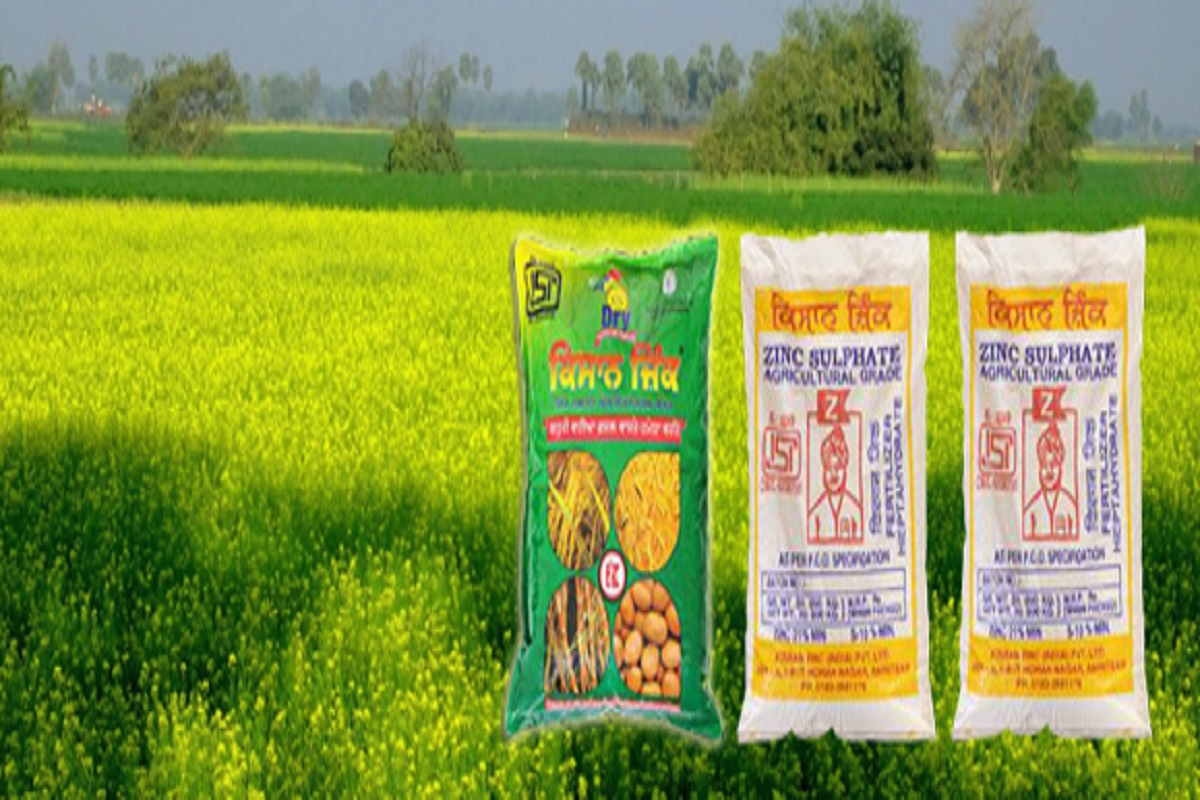 Zinc sulphate to cure zinc deficiency - Farmers' attention!