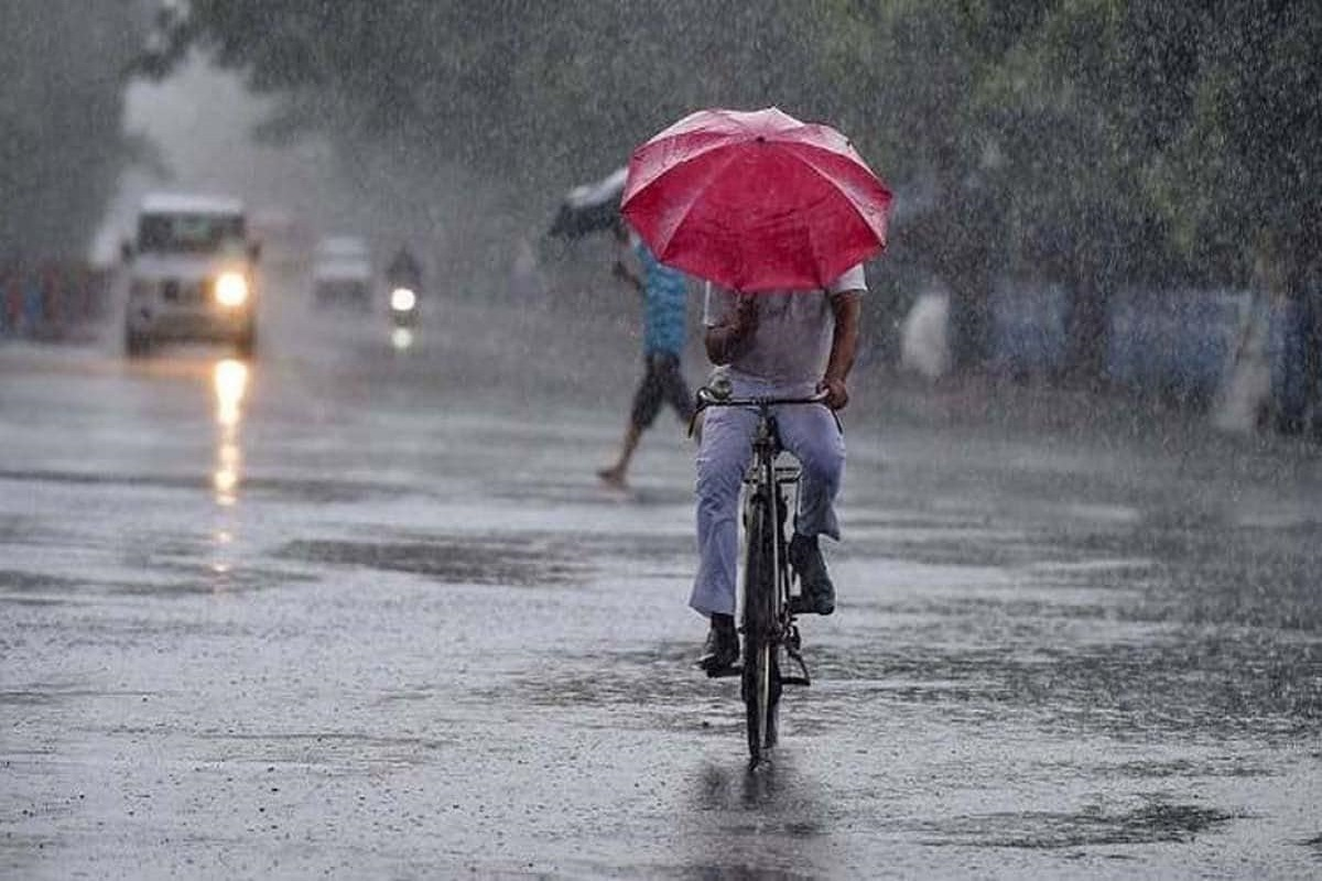 Chance of heavy rain with thunder in 3 districts