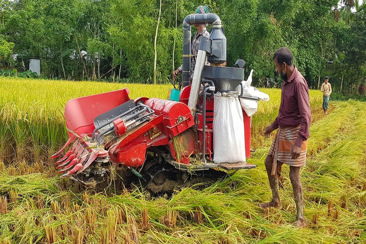Rent for Paddy Harvesters - Attention Farmers!