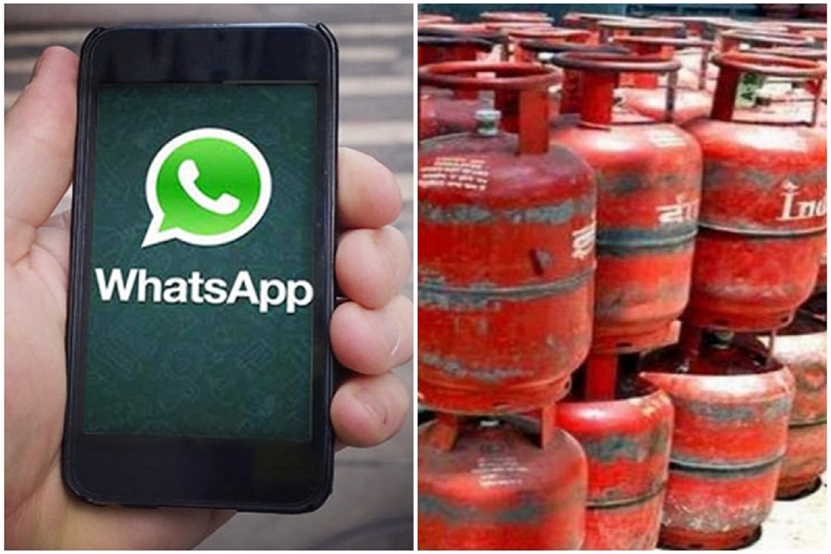 Missed call is enough to book a cylinder - WhatsApp facility is coming!