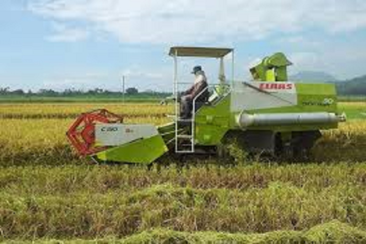 Action if rent-extra charge for harvesting machines!