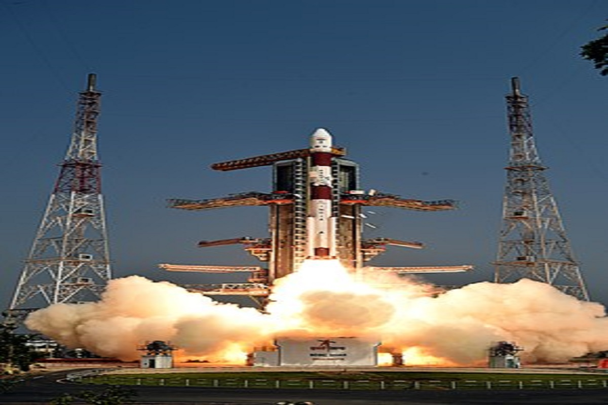 Successful launch of PSLV C-51 rocket into space with agricultural satellite!