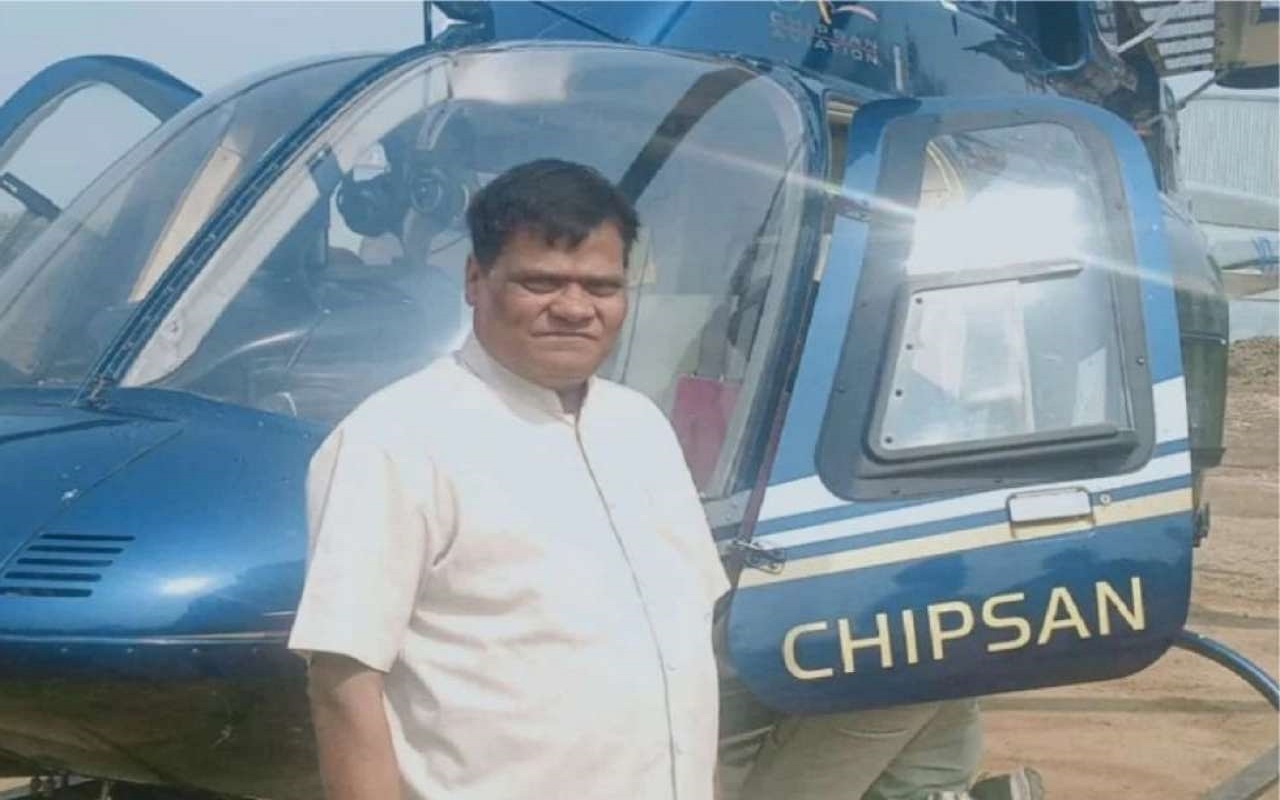 Farmer who sold milk and bought a helicopter!