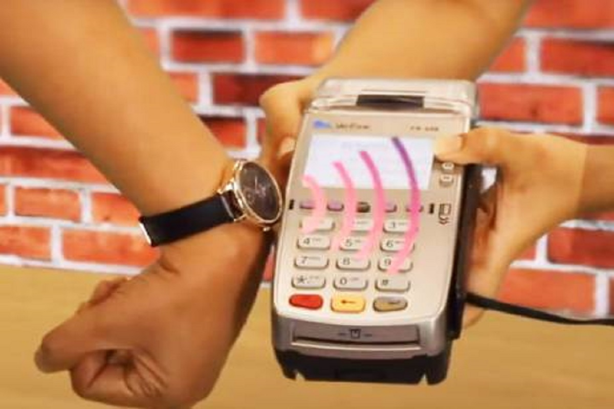 No need for any card to pay anymore - watch is enough!