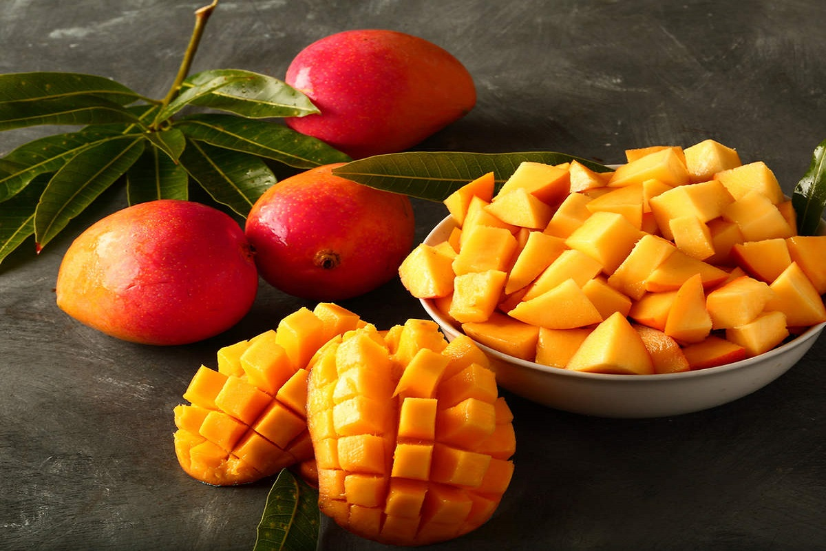 If you eat mango, you will get more pimples on your face - people beware!
