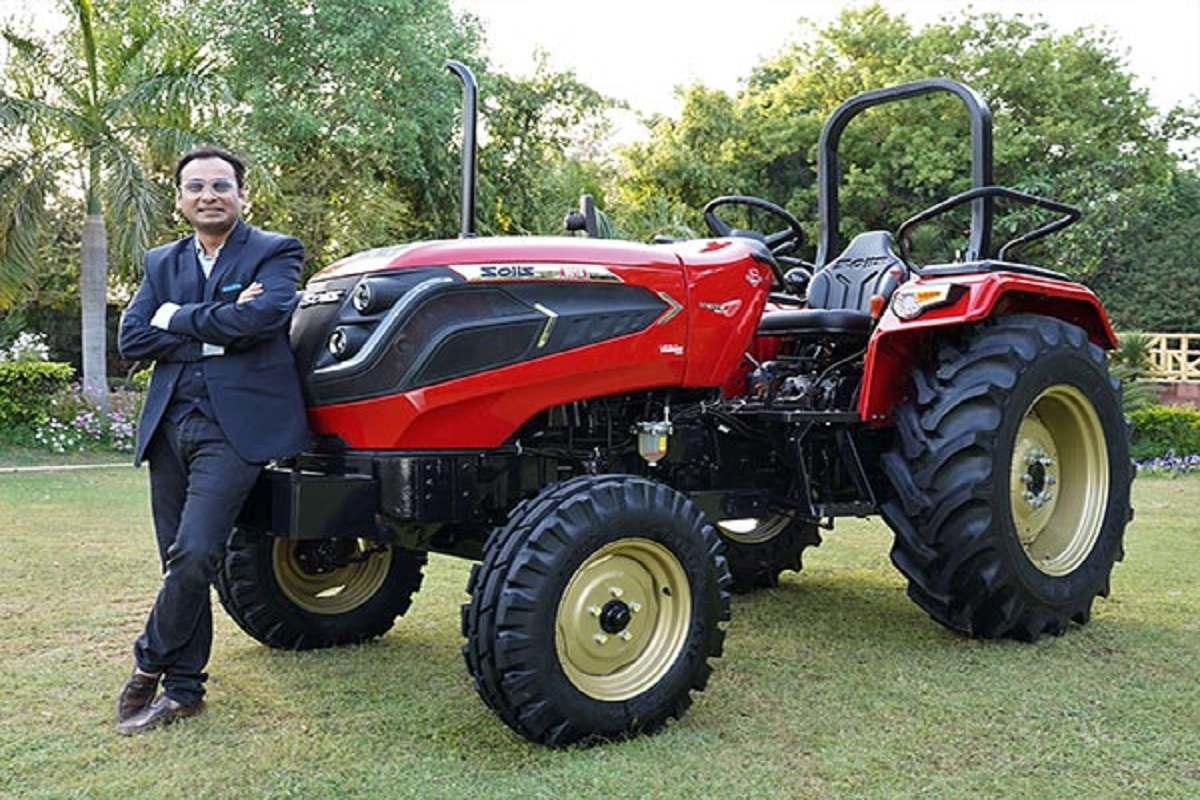 Hybrid tractor running on both electricity and diesel - only Rs 7.21 lakh!