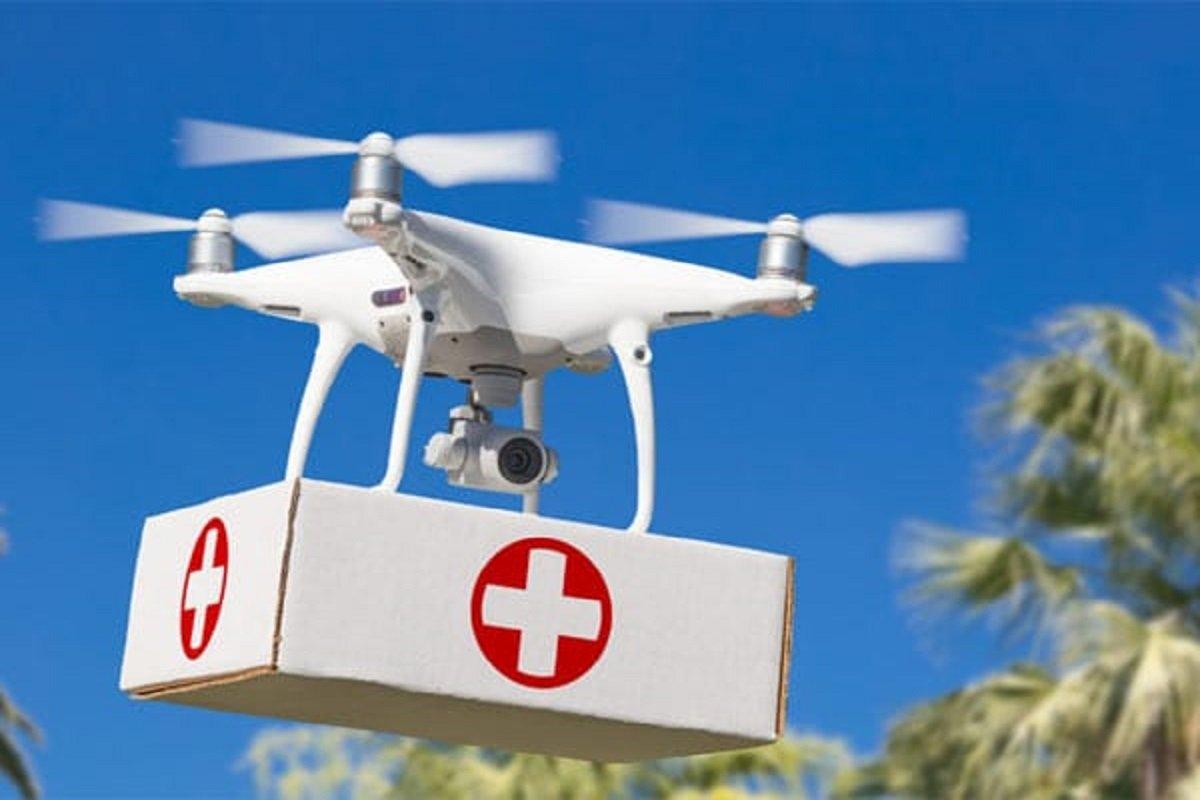 Corona Vaccine Via Drone
