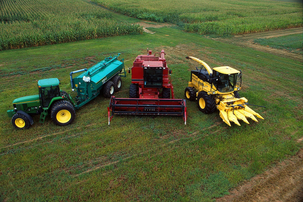 Agricultural machinery at low rent for agricultural work!