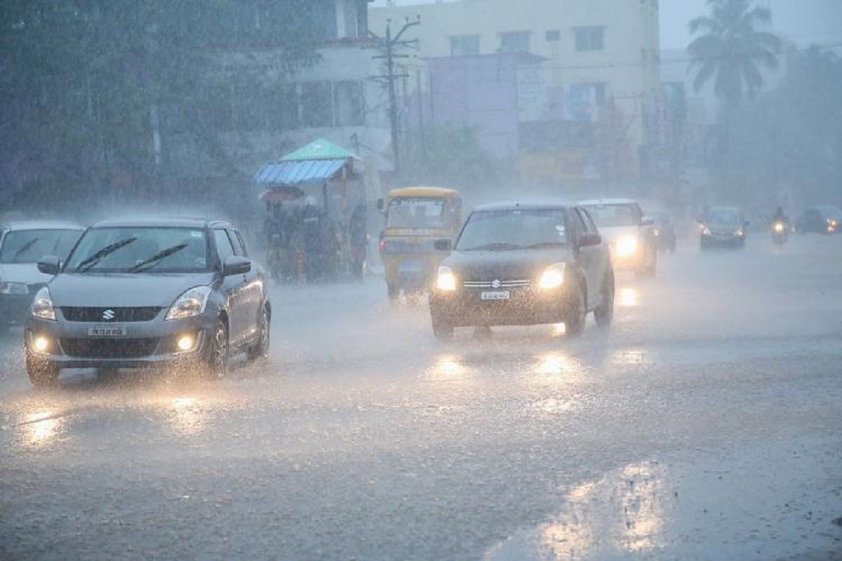 Is there a heavy rain warning for your district?