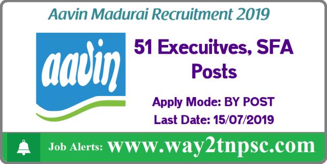 aavin milk madurai recruitment