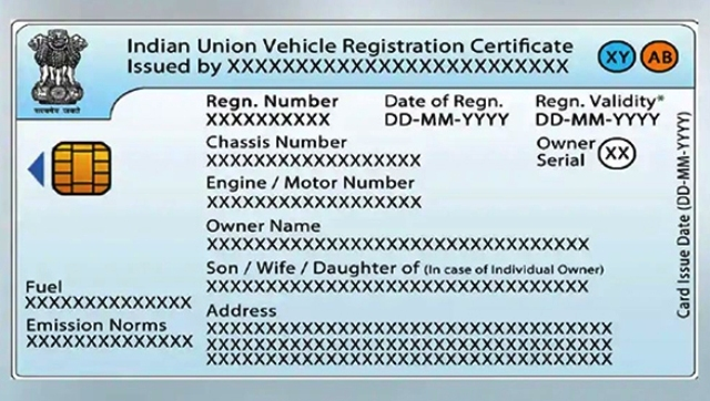 new driving licence sample