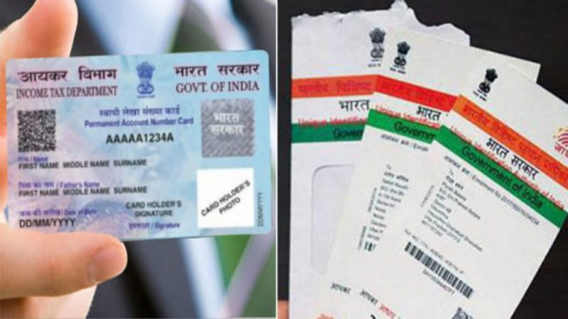 Pan Card and Aadhar Card