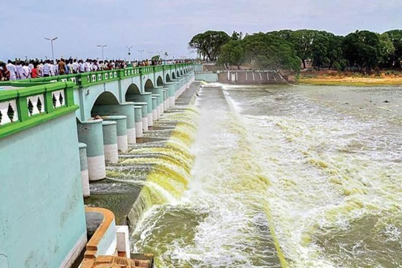 Discharge of surplus water