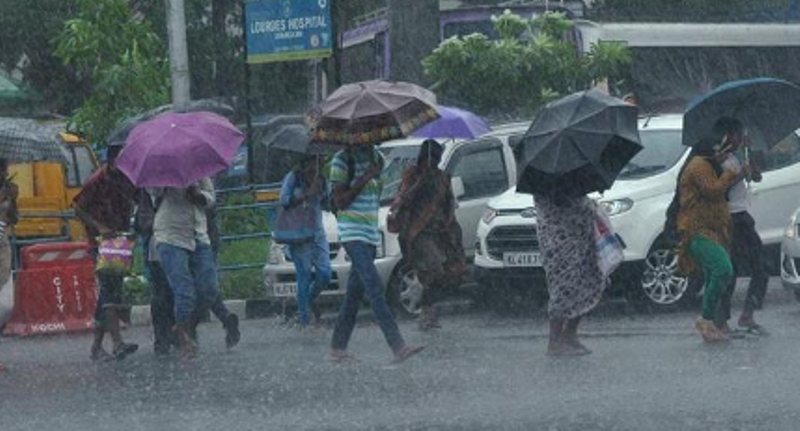 heavy rains in Theni, Dindukal