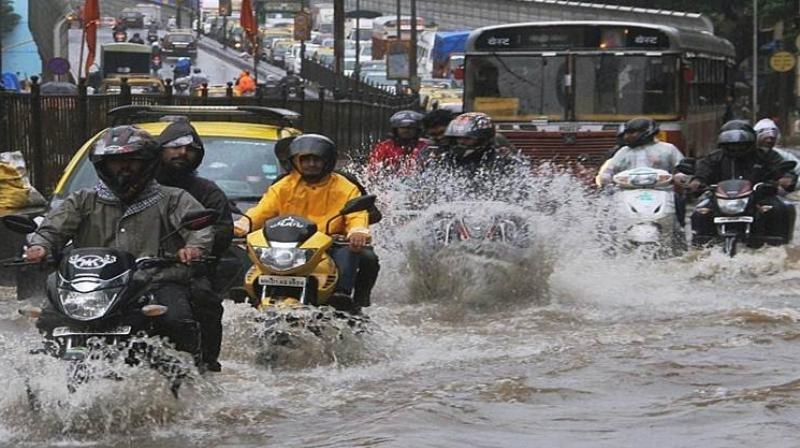 Red Alert again flood in mumbai