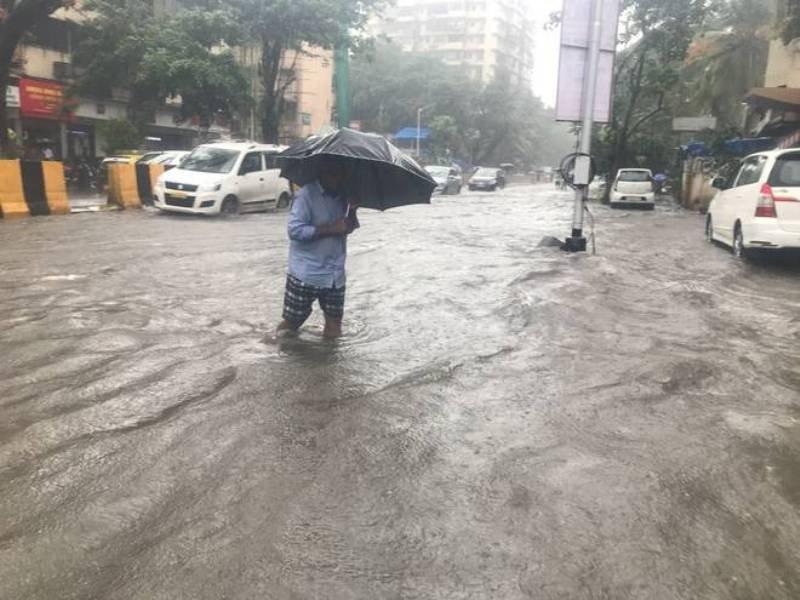 Mumbai heavy Rainfall