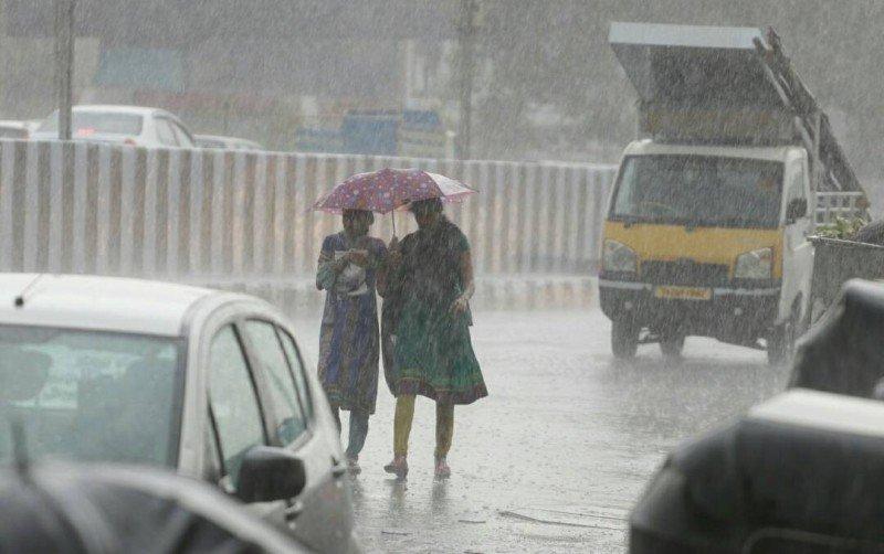 heavy rains with thunder storm
