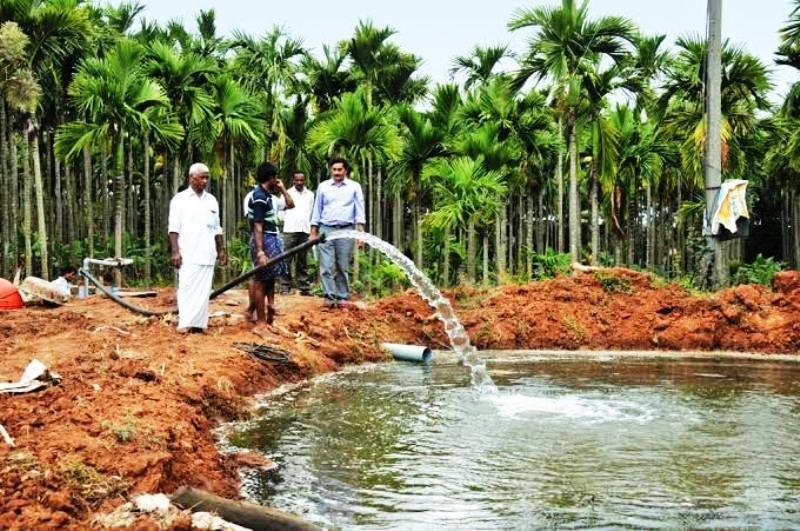 preparation of Pond