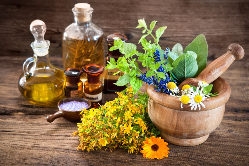 Herbal Oil Cures Stress