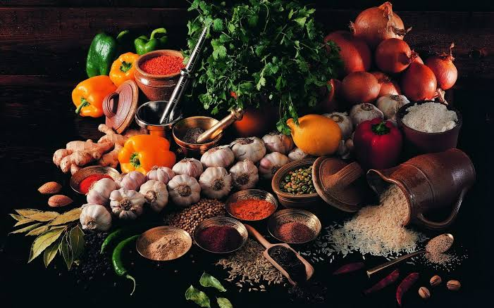Spices used our traditional dishes