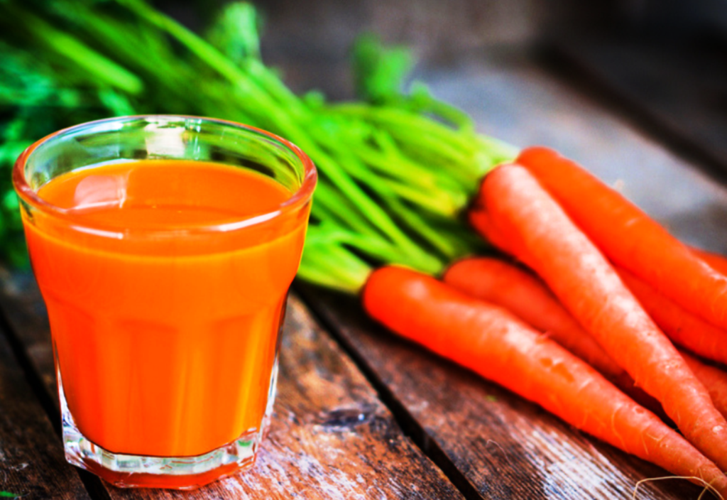 Healthy and Tastey Carrot juice