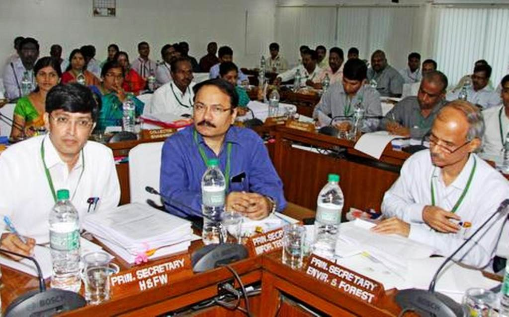 Conference with Higher Officials