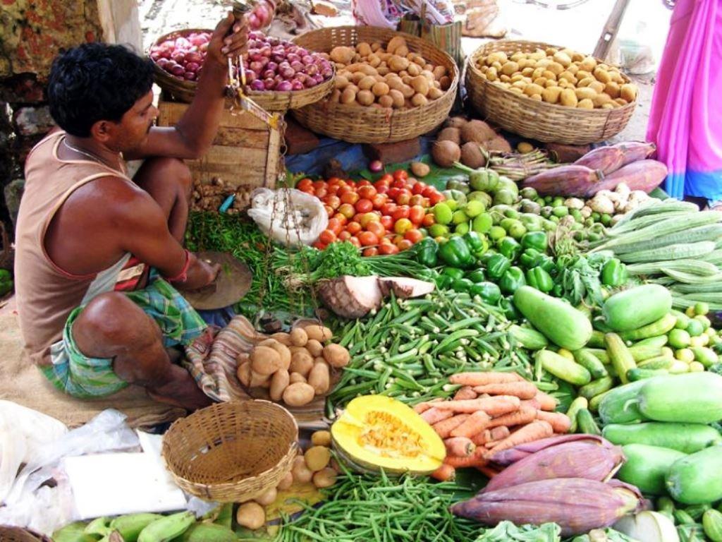 Village Vegetable Vendor