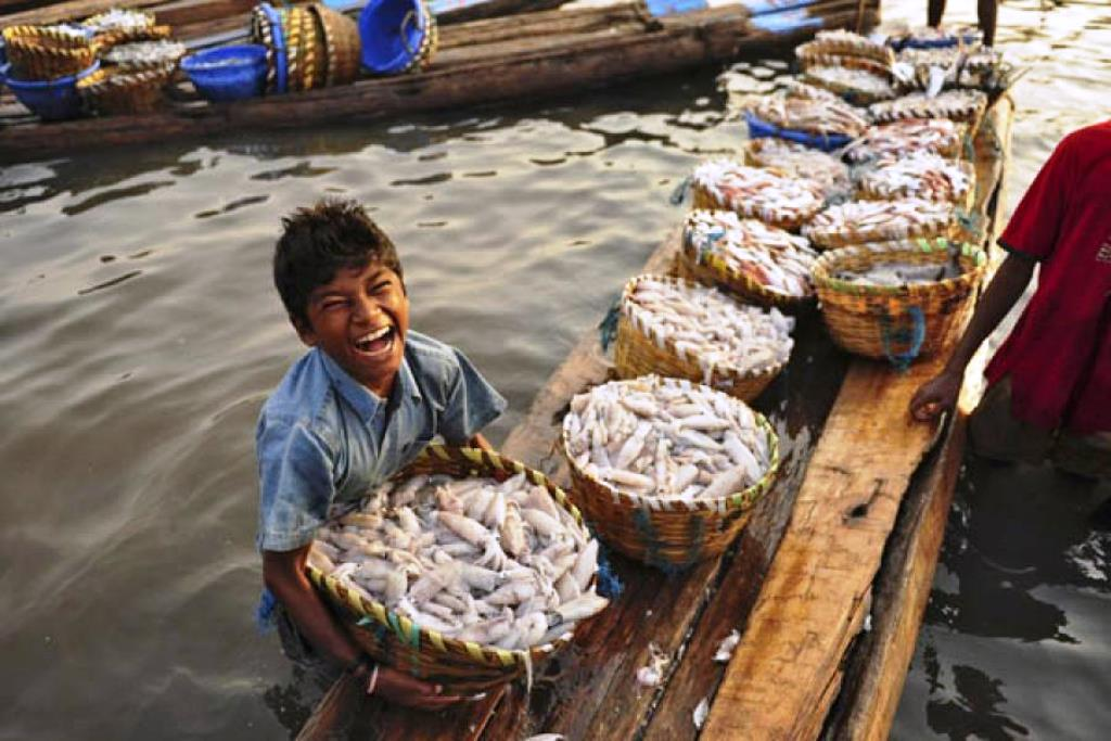 Happiest Fisher Man
