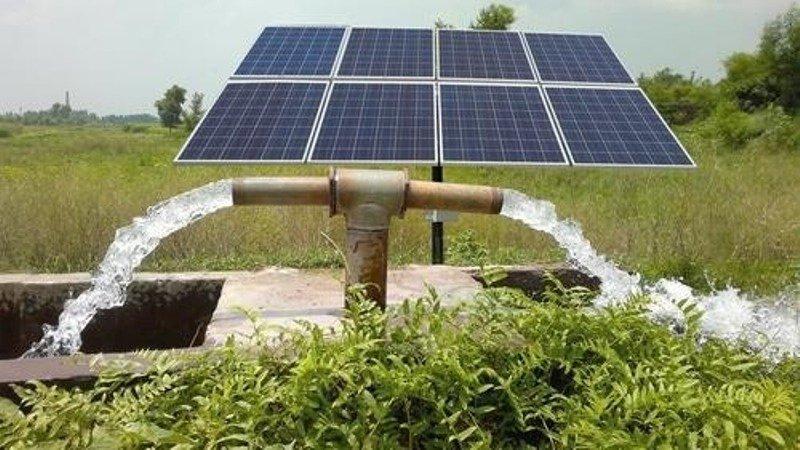 Subsidy for solar pump