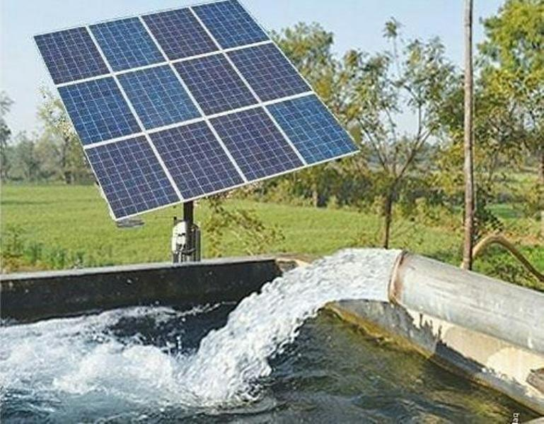 Subsidy for solar pumps