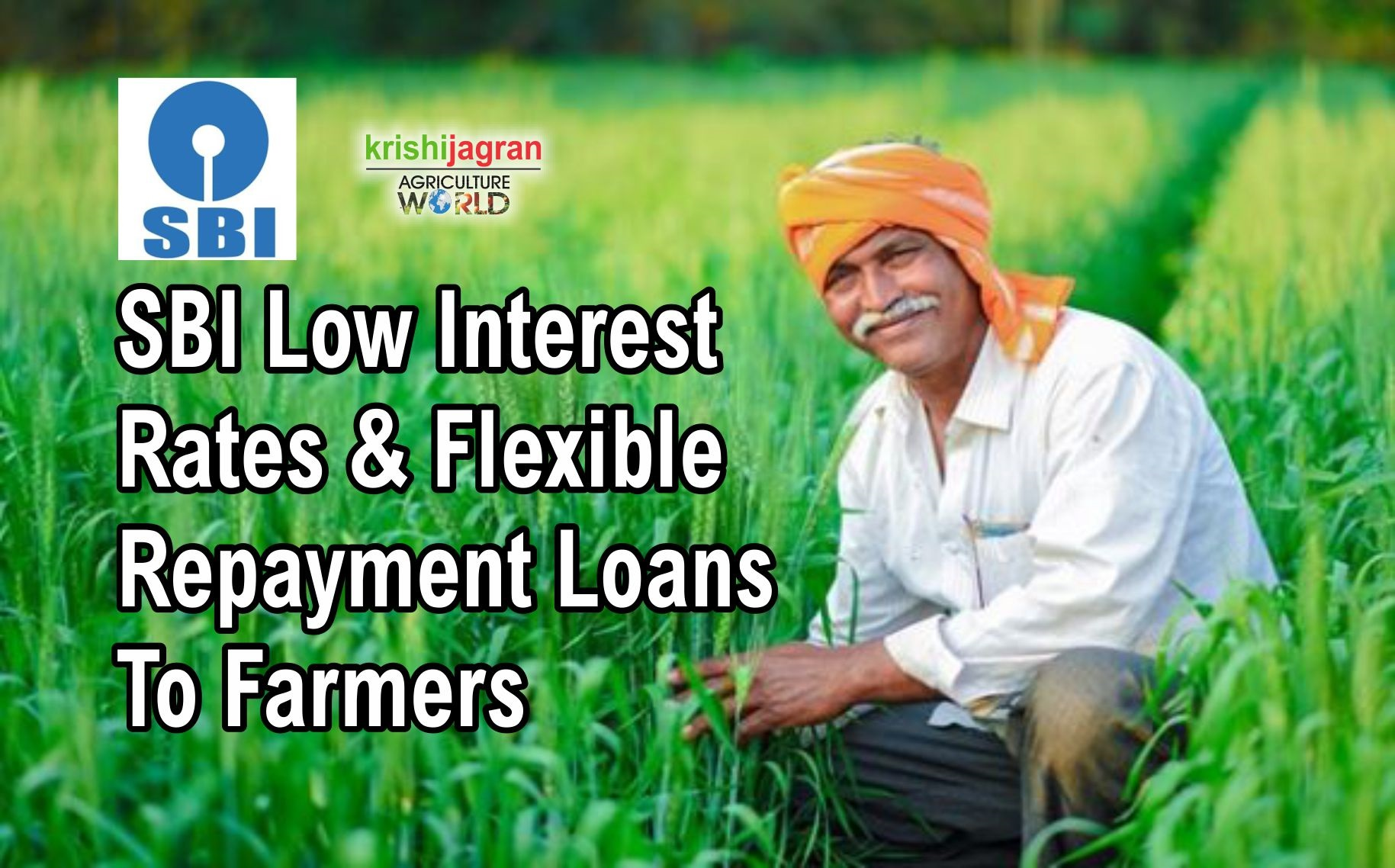 SBI offers special agriculture loan with 4 % interest