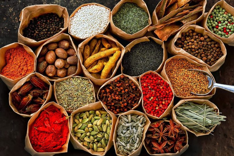 health nenefits of spices