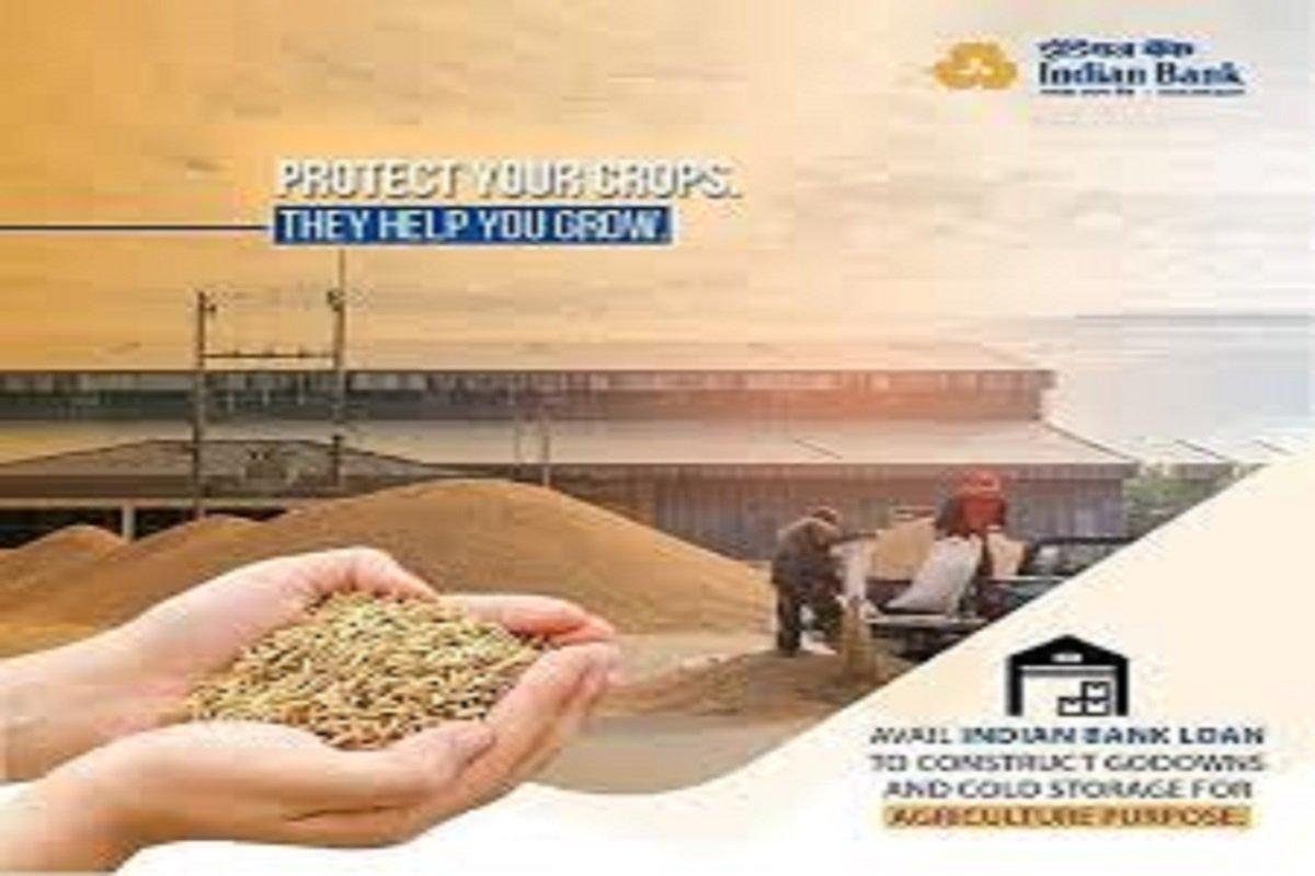 Indian Bank`s Agri loan