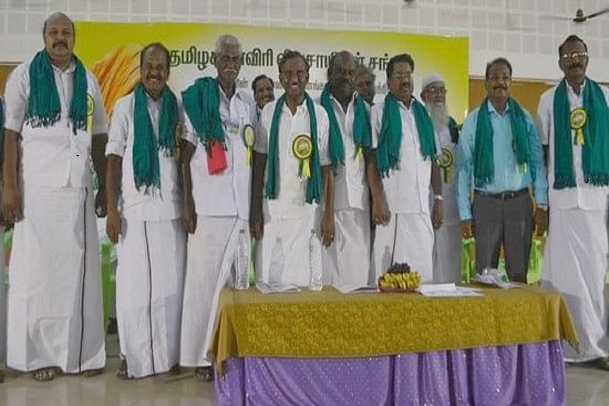 Against the agri bill - oct 2nd Protest announced by Tamilnadu farmers!