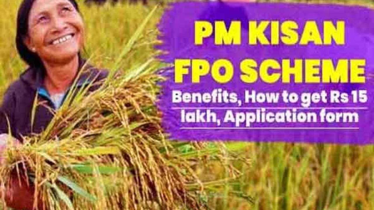 PM Kisan FPO: Central government's plan to lend up to Rs 15 lakh to agricultural organizations!