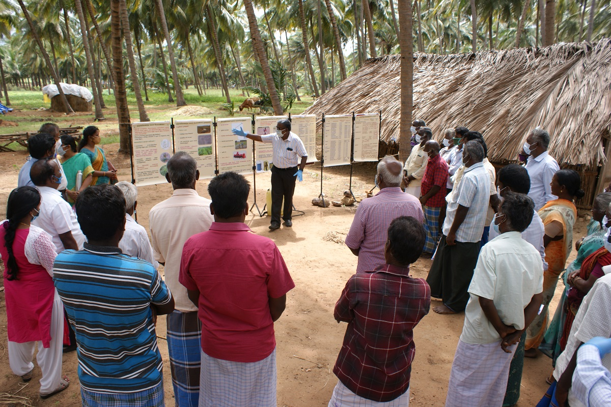 Integrated Weed Management Training in Agricultural Crops for List Ethnic Farmers