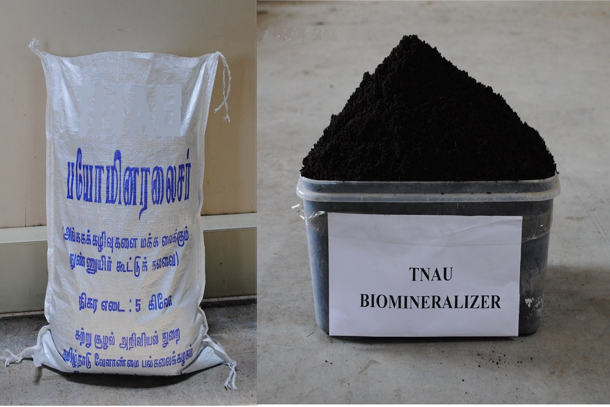 Micronutrient compound for composting natural waste - TNAU product!