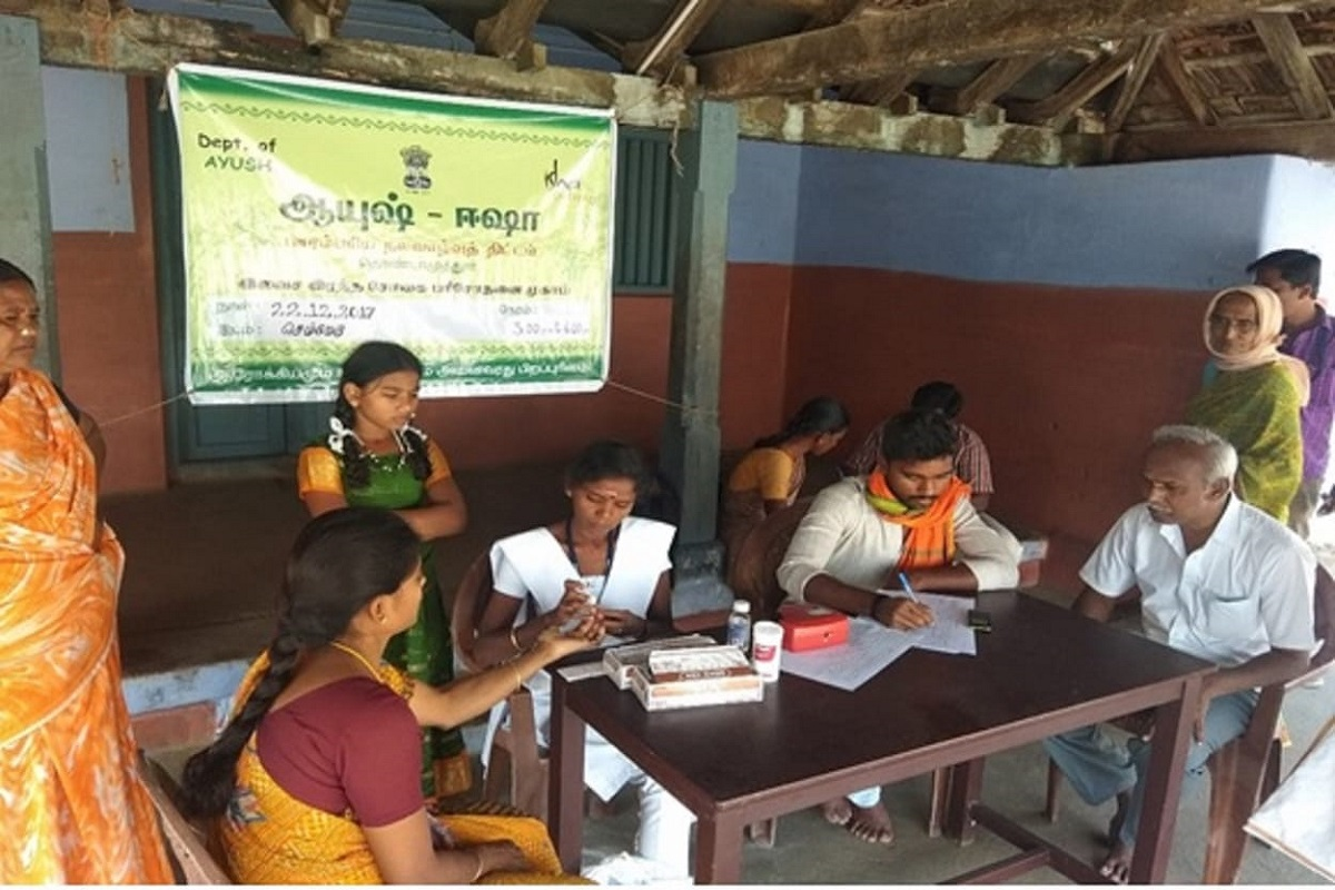 Isha-500 people providing medical services to villagers have recovered from anemia!