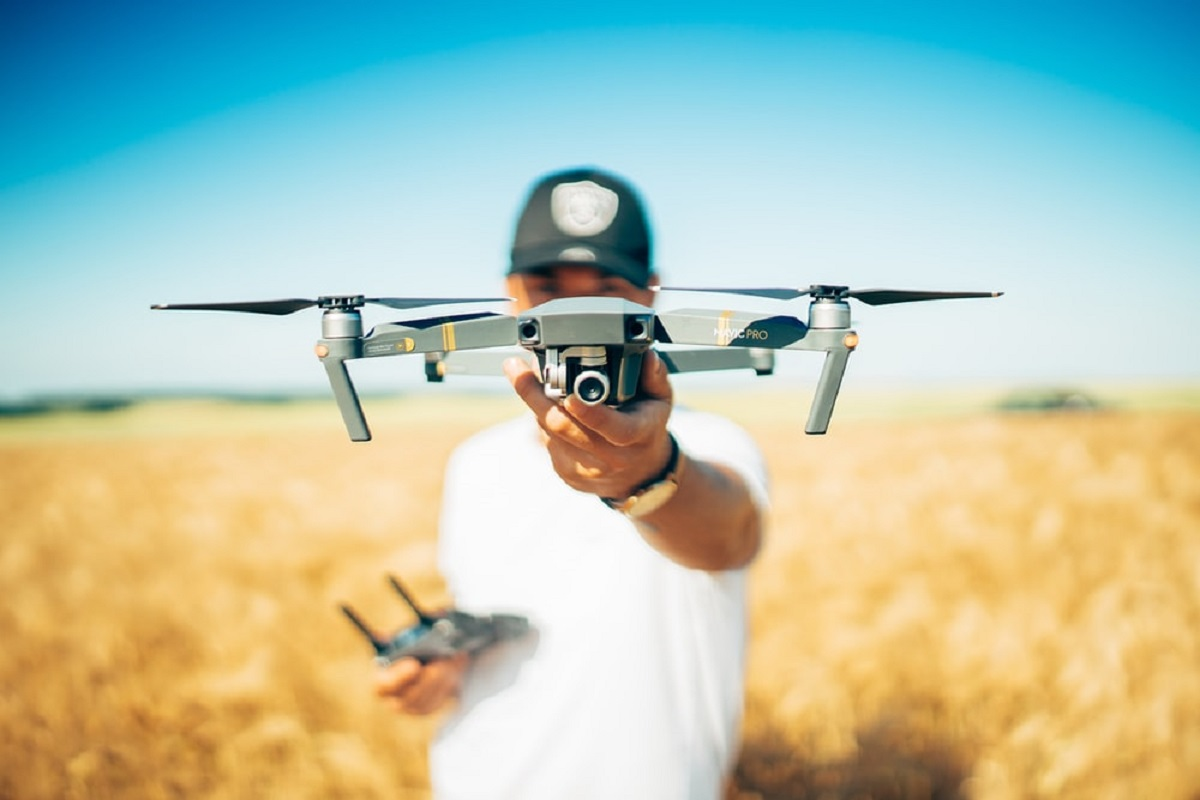 Drones in Agricultural Research - Government Permission to Use!