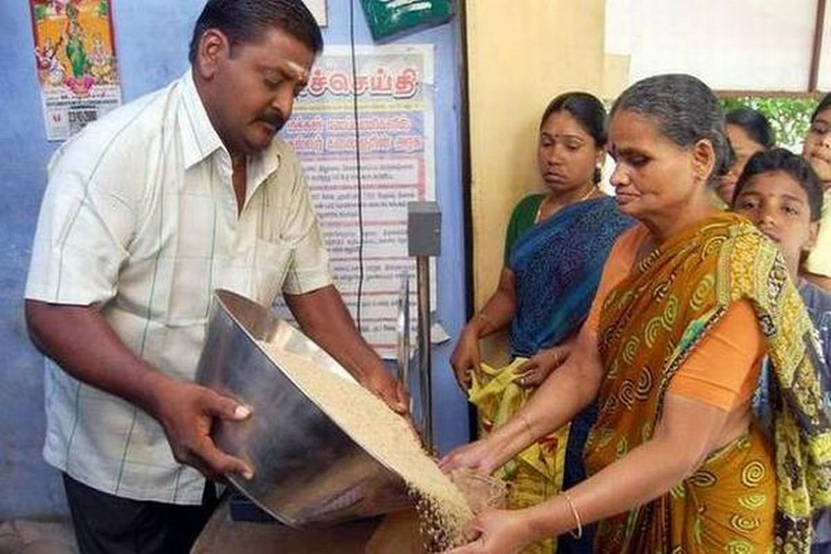 Free Rice From Central Government