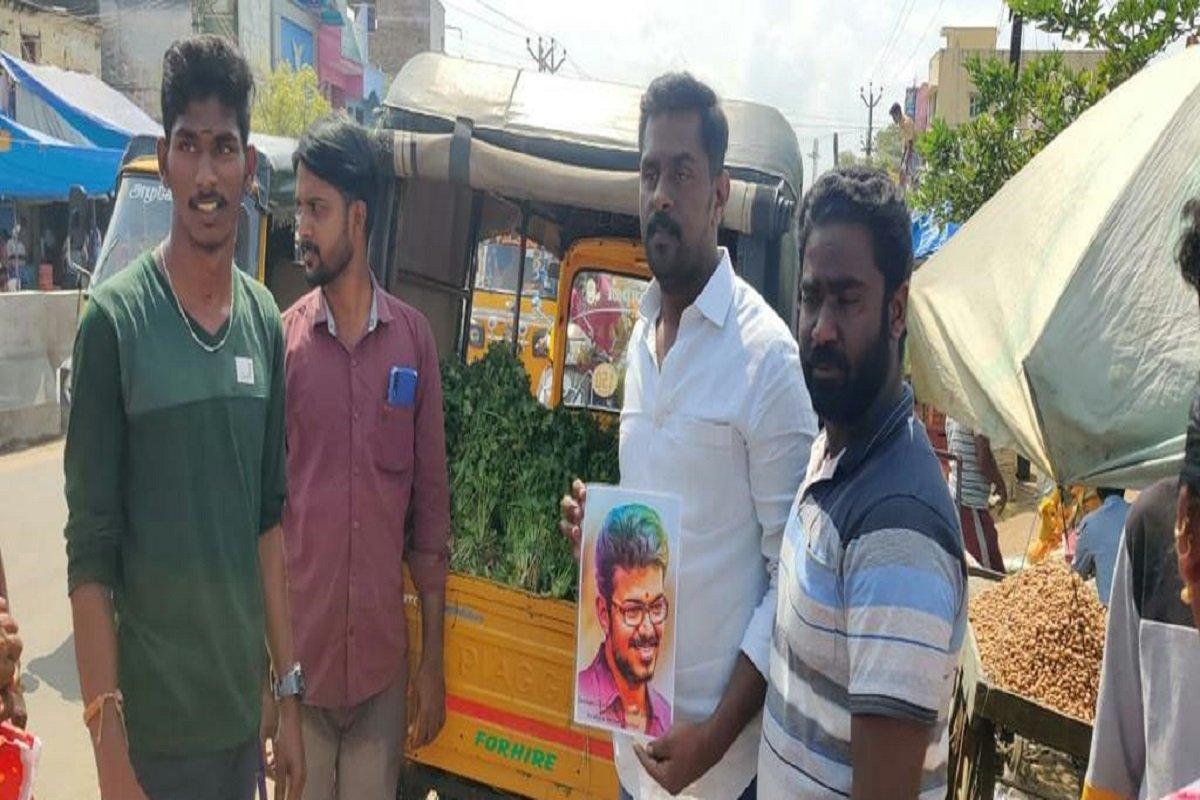 Vijay Fans helps to farmers