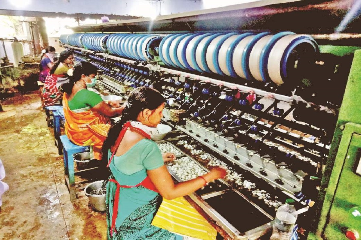 Rs 3 lakh income per acre - lucrative silk breeding industry!