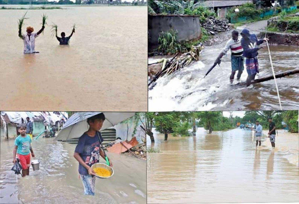 Burevi cyclone hits delta districts