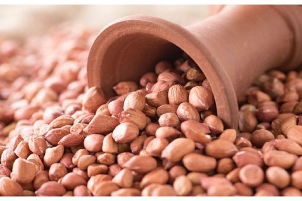 Peanuts to remove constipation and lead to childbirth!